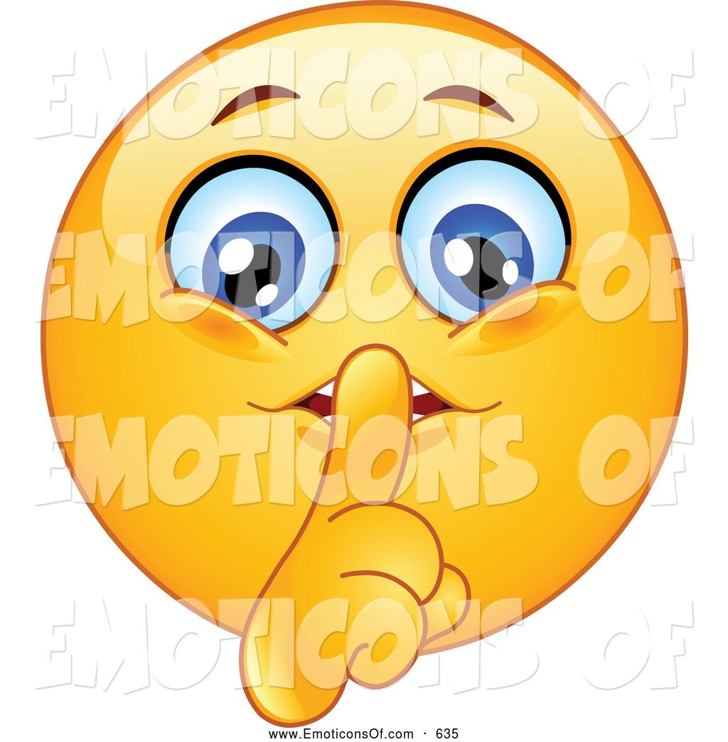 1024x1044 Clip Art Vector Cartoon Of A Cute Yellow Smiley Face Shushing By