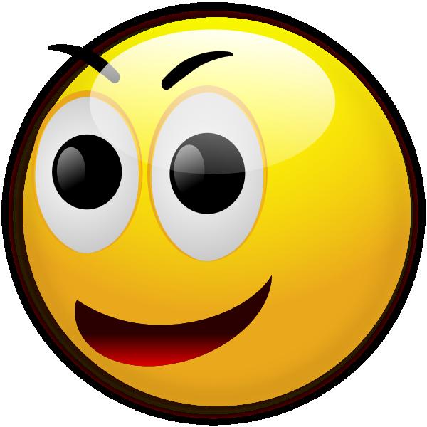 600x600 Happy Smiley Clip Art