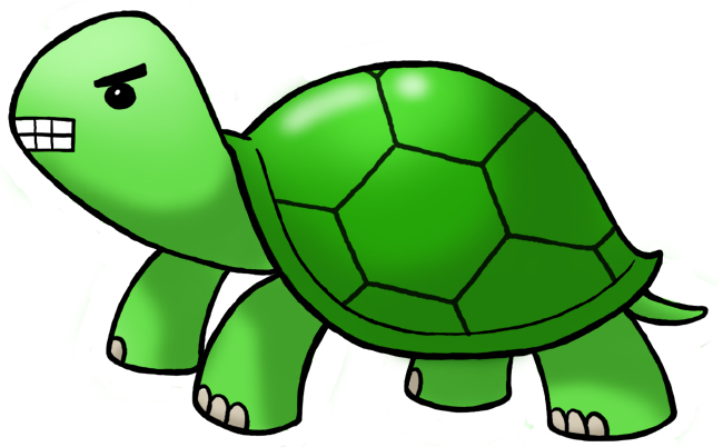 Cartoon Snapping Turtle | Free download on ClipArtMag