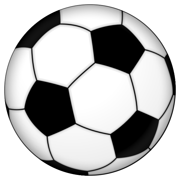600x600 Cartoon Soccer Balls Pictures