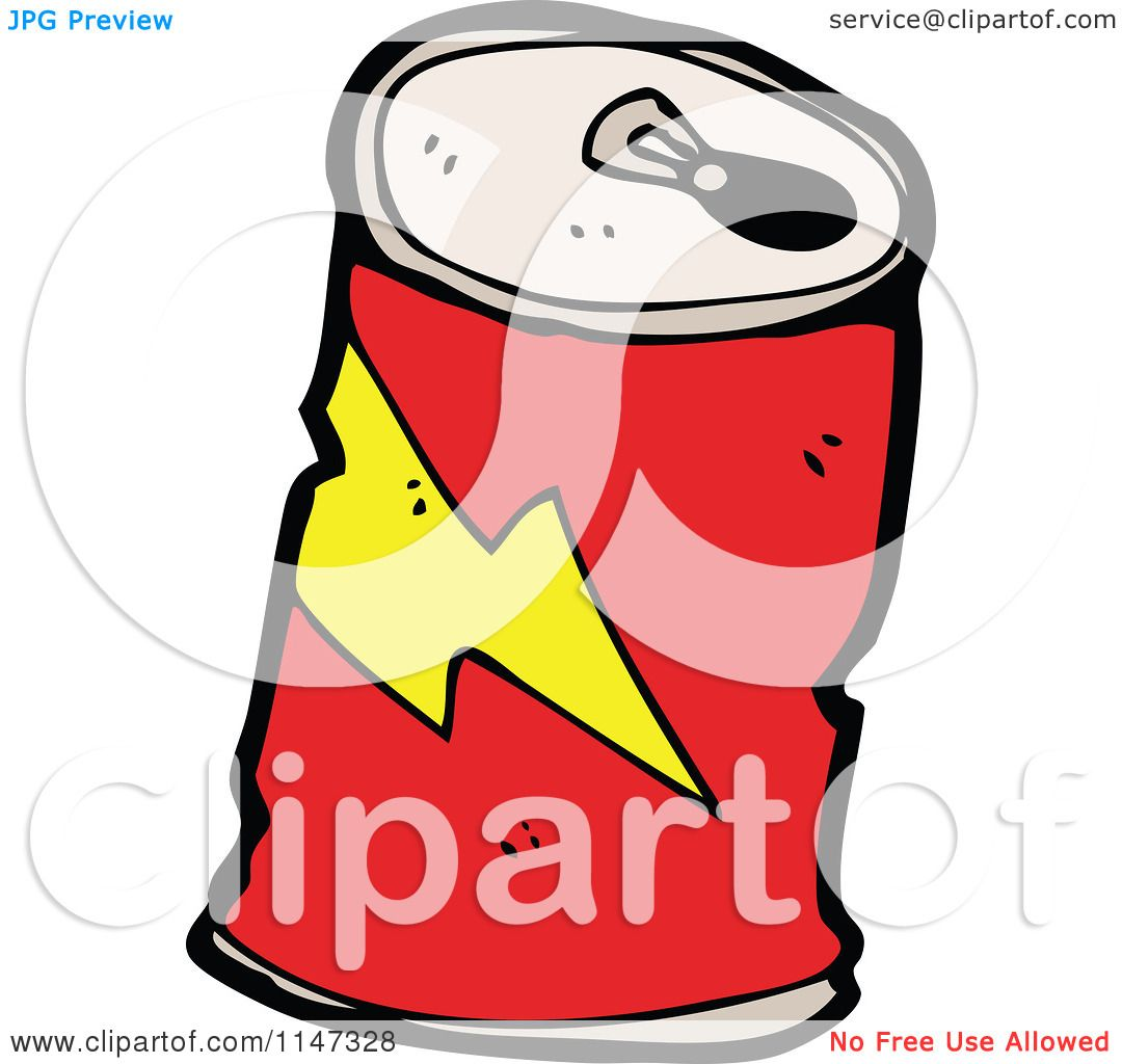 1080x1024 Cartoon of a Soda Can
