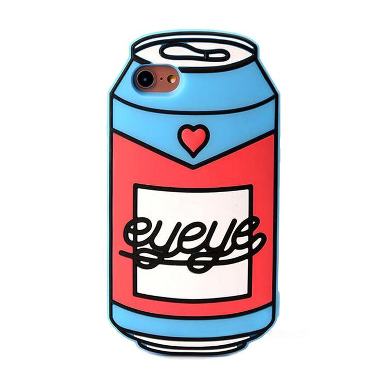 800x800 2017 Fashion 3d cartoon summer cool love quench sweet ice coke