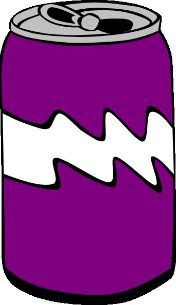 342x594 Purple Can Clip Art