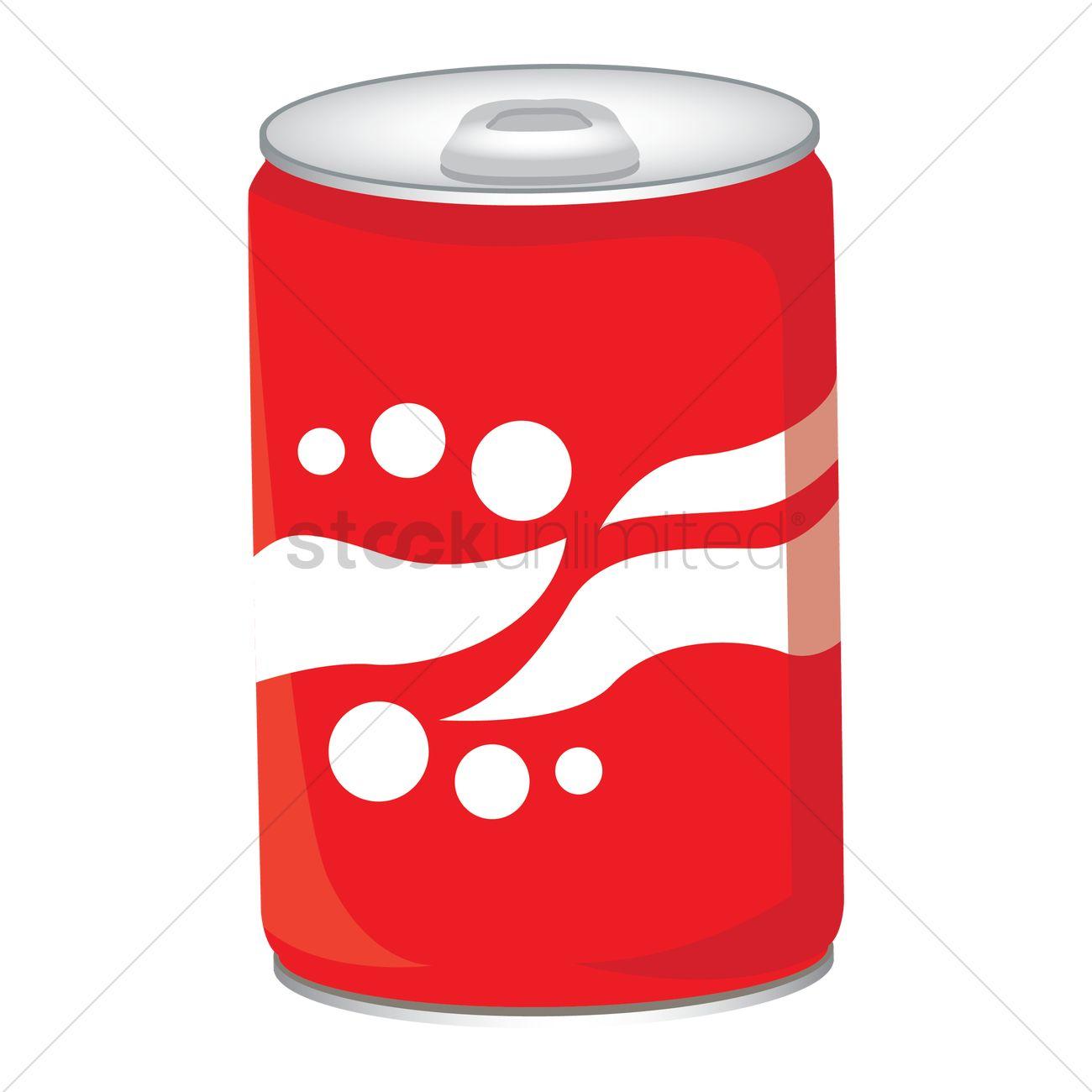 1300x1300 Soda can Vector Image