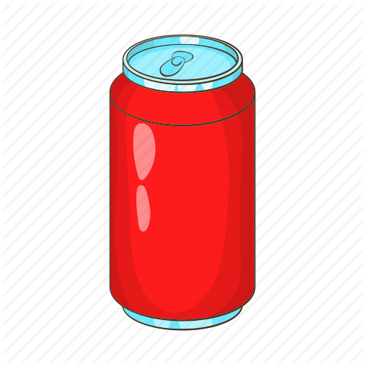 512x512 Aluminum, bank, beverage, cartoon, drink, soda icon Icon search