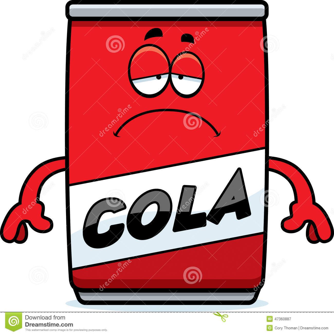 1300x1302 Soda clipart sad