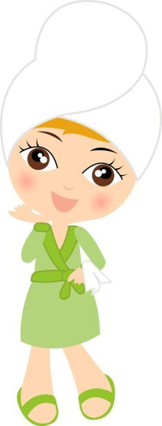 Cartoon Spa Clipart