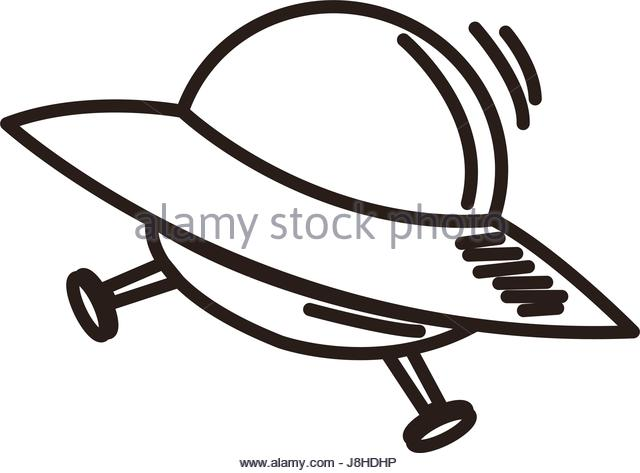 640x473 Cartoon Alien Spaceship Flying Saucer Stock Photos Amp Cartoon Alien