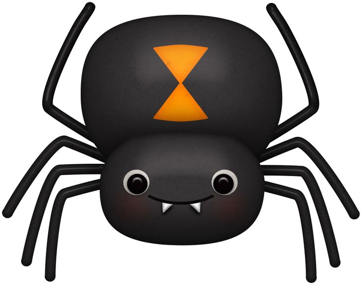 Cartoon Spider Clipart