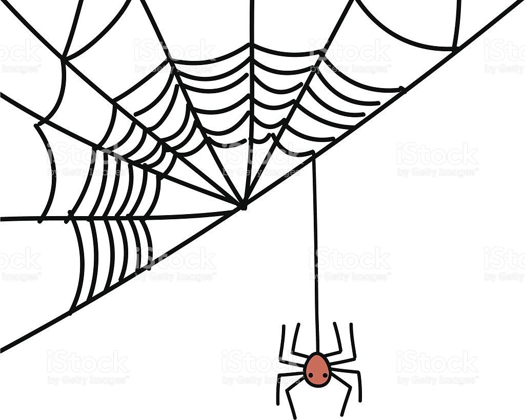 1024x820 Drawn Spider Web Animated
