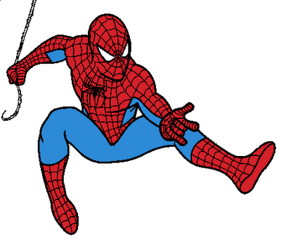 400x340 Spider Web Clipart Baby