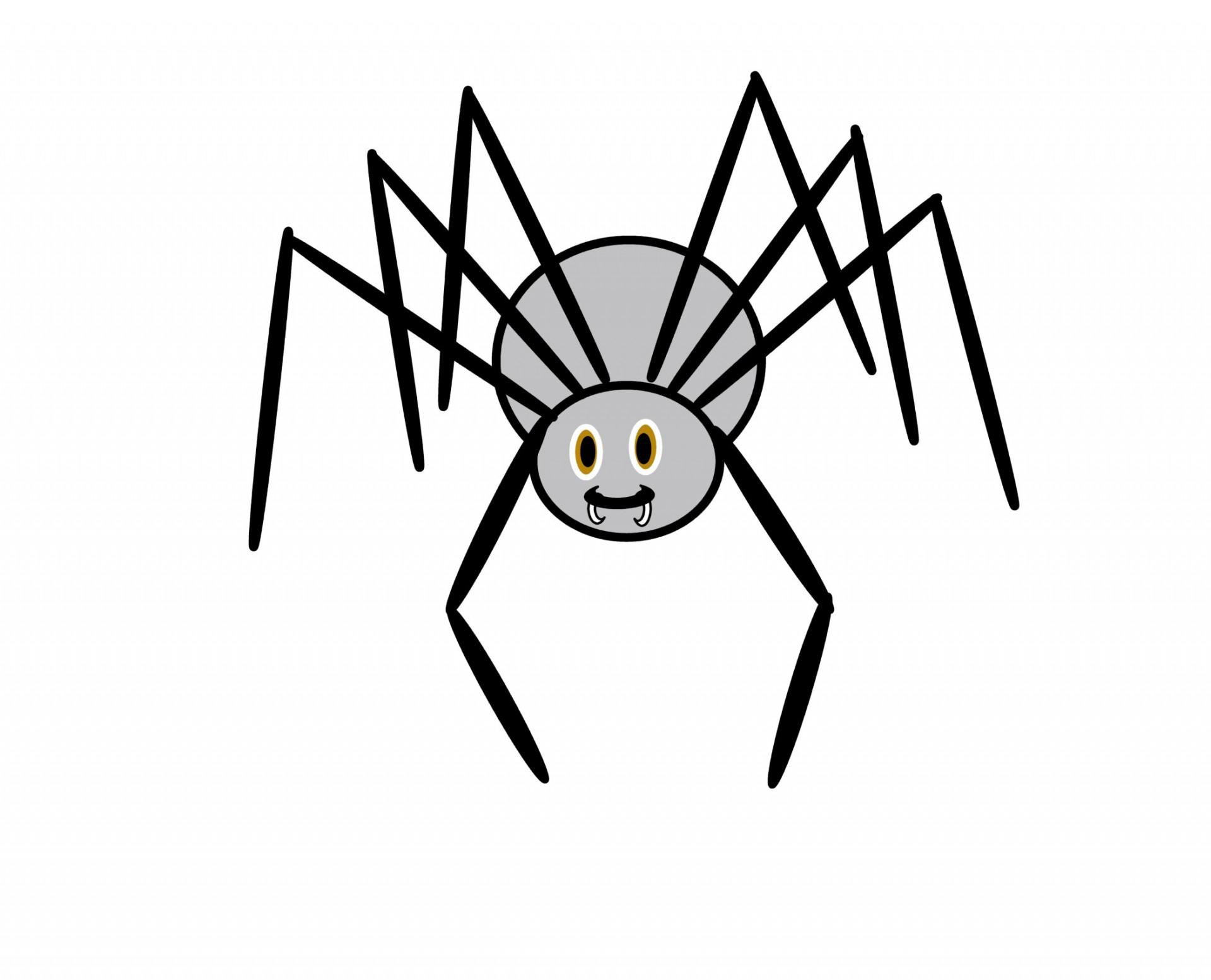 1920x1554 Clip Art Spider Free Stock Photo