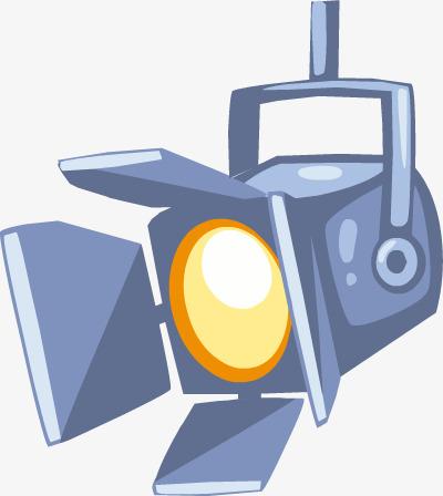 400x448 Cartoon Spotlight, Lamps And Lanterns, Spotlight, Cartoon Png