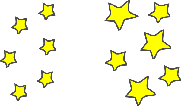 600x352 Star Clusters Clip Art