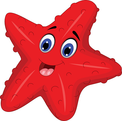 417x412 Fish Clipart Red Star