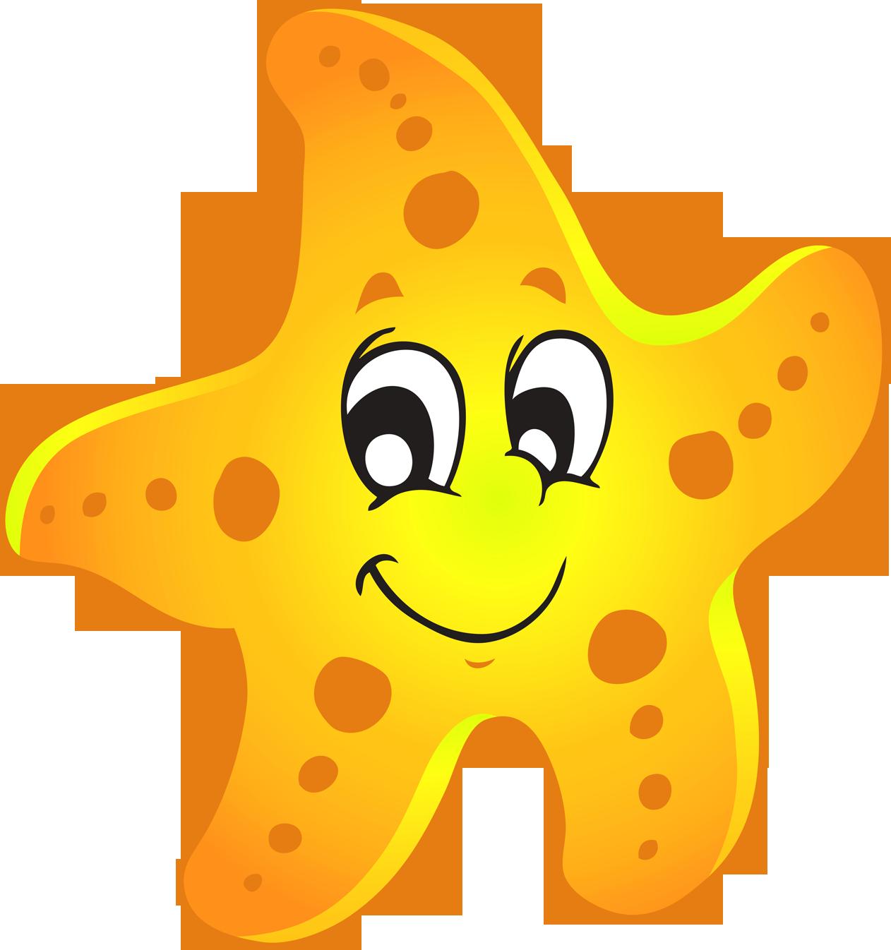 1262x1346 Starfish Clipart Animated