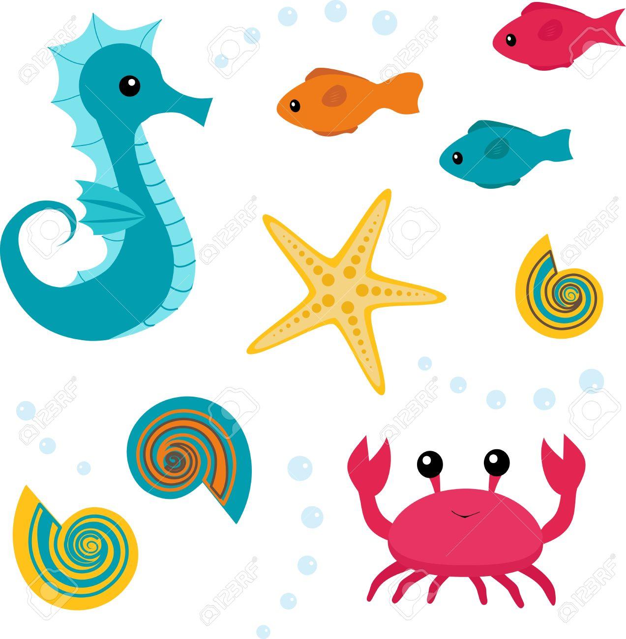 1273x1300 Starfish Clipart Under Sea