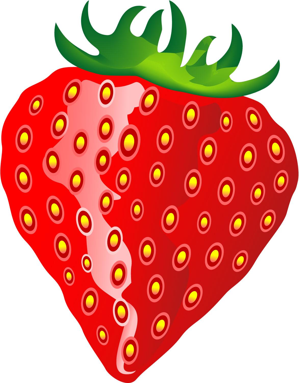 1173x1500 Clip Art Cartoon Strawberry Clipart