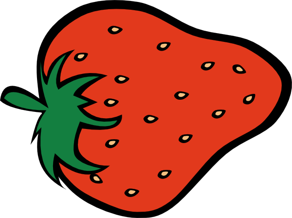 600x448 Strawberry Clip Art