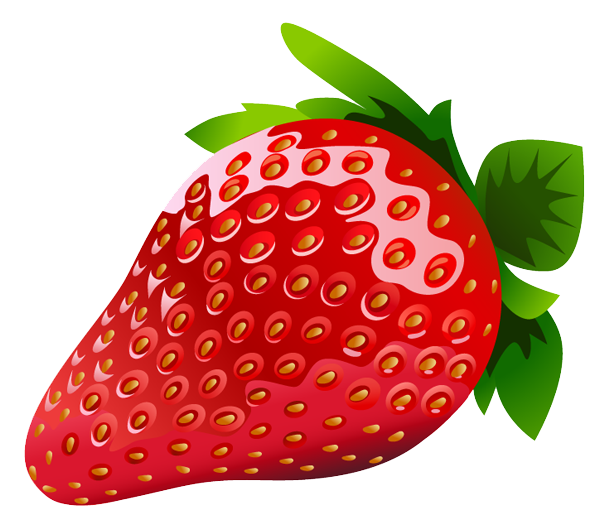 600x530 Strawberry Clipart