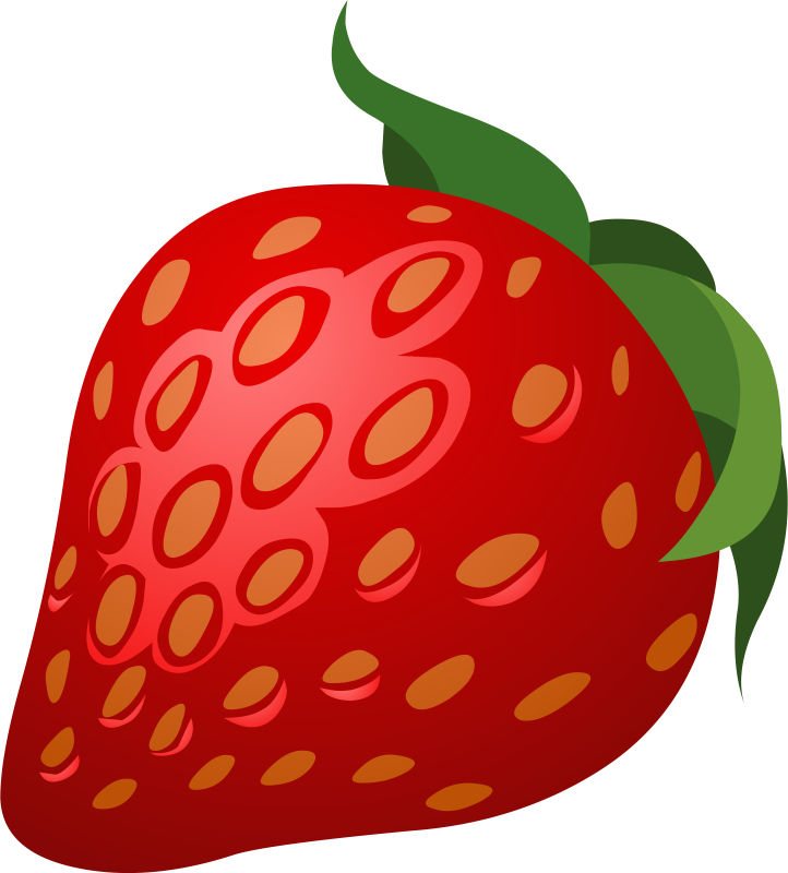 722x800 Best Strawberry Clipart