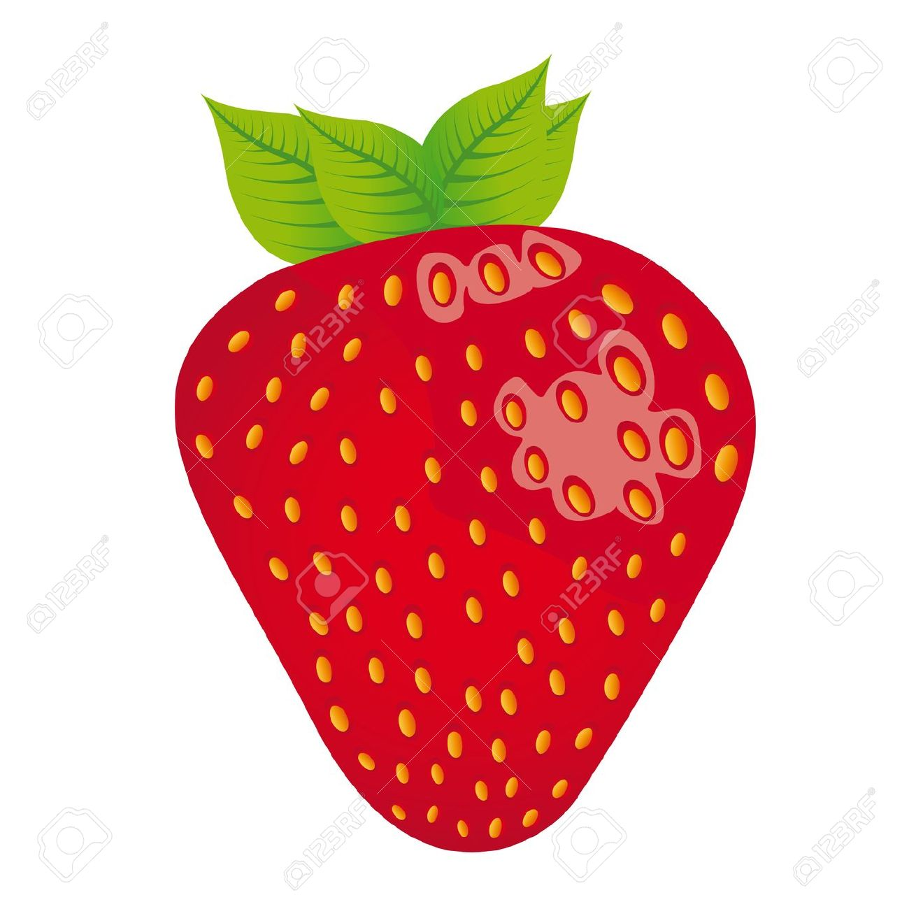 1300x1300 Strawberry Cartoon Strawberries Clipart