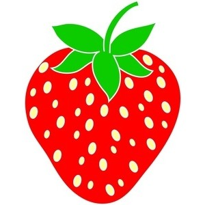 300x300 Strawberry Clipart Cartoon