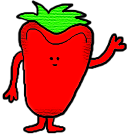255x268 Strawberry Clipart Grape