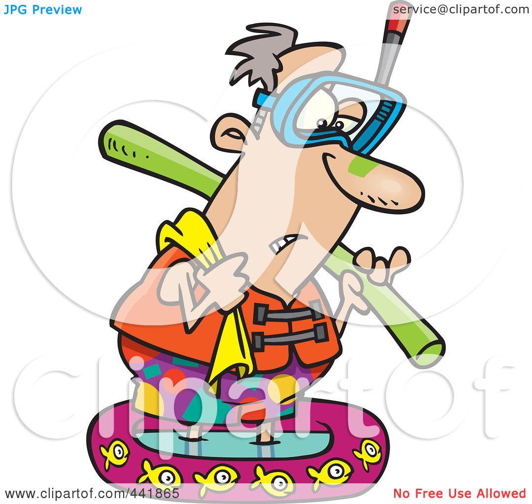 1080x1024 Royalty Free (Rf) Clip Art Illustration Of A Cartoon Summer Man