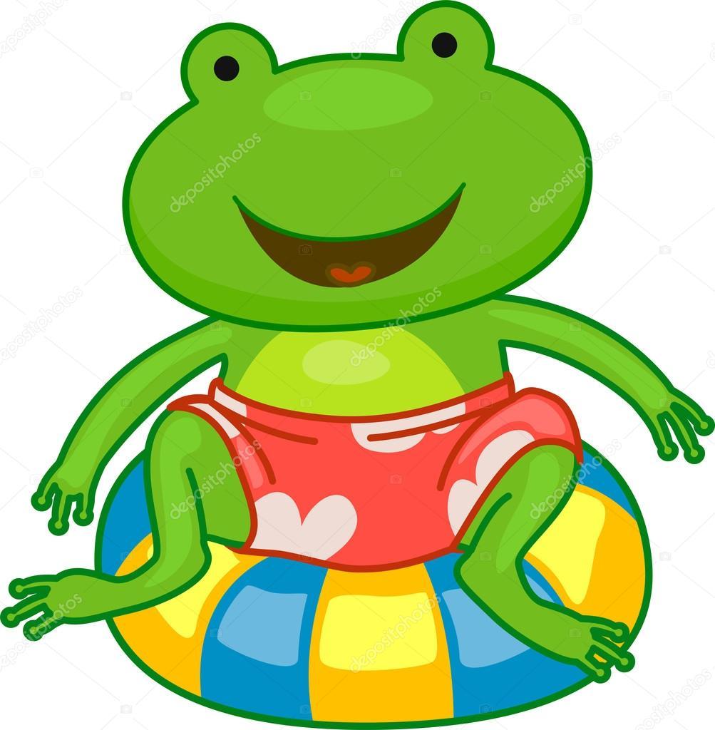 1003x1024 Summer Frog Stock Photo Lenmdp