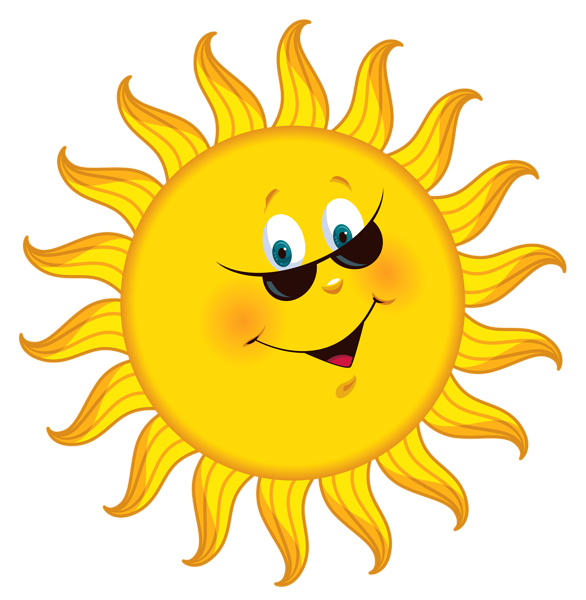 586x600 Sun Clipart For Kid Png