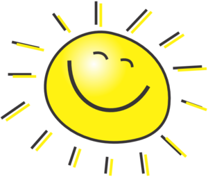 300x255 Cartoon Sun Clip Art