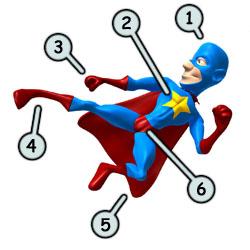 250x250 How To Draw Cartoon Superheros