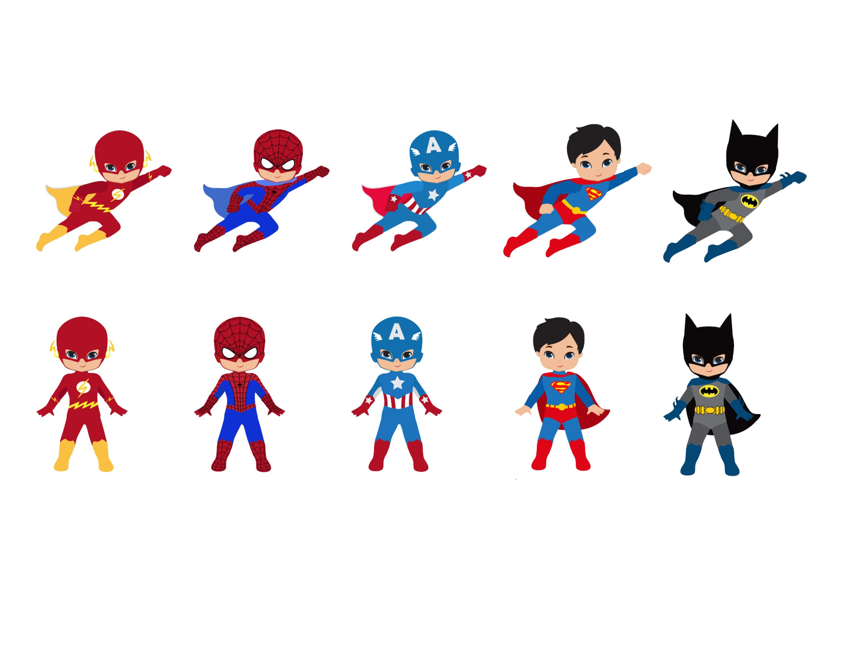 3300x2550 Images For Gt Cute Cartoon Superheroes Super Heros Kid Cartoons