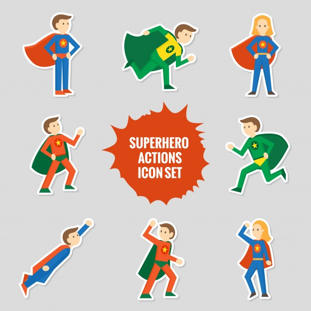 626x626 Superhero Character Vectors, Photos and PSD files Free Download
