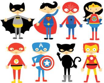 340x270 Superhero Vector Etsy