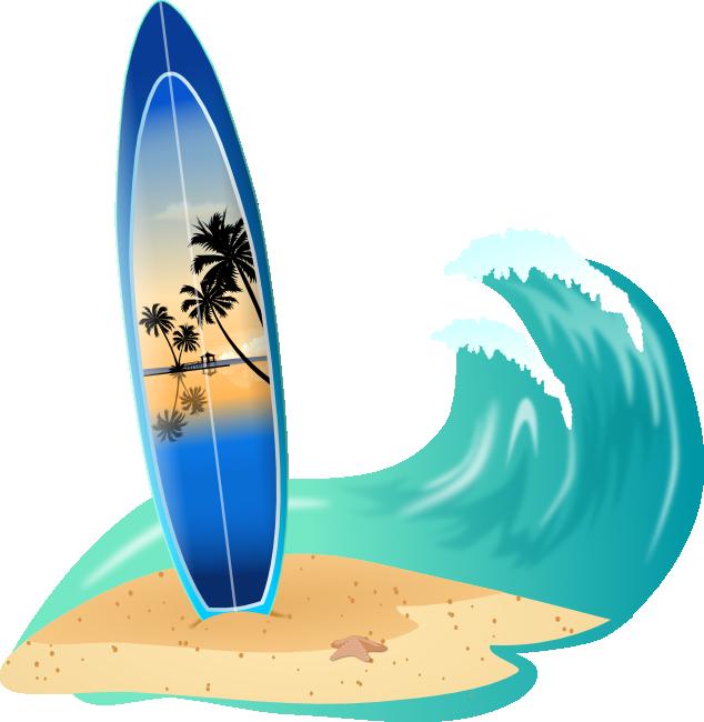 634x650 Best Surfboard Clip Art
