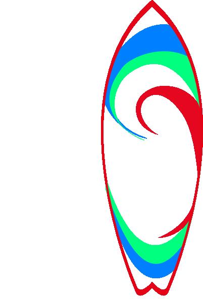 402x596 Surfboard Clip Art 7 Image