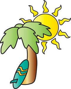 241x300 Surfing Clipart Image