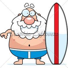236x236 Surfboard Clip Art Clip Art Image Of A Cartoon Of A Surfboard