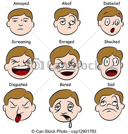 450x470 Emotions Clipart Expression