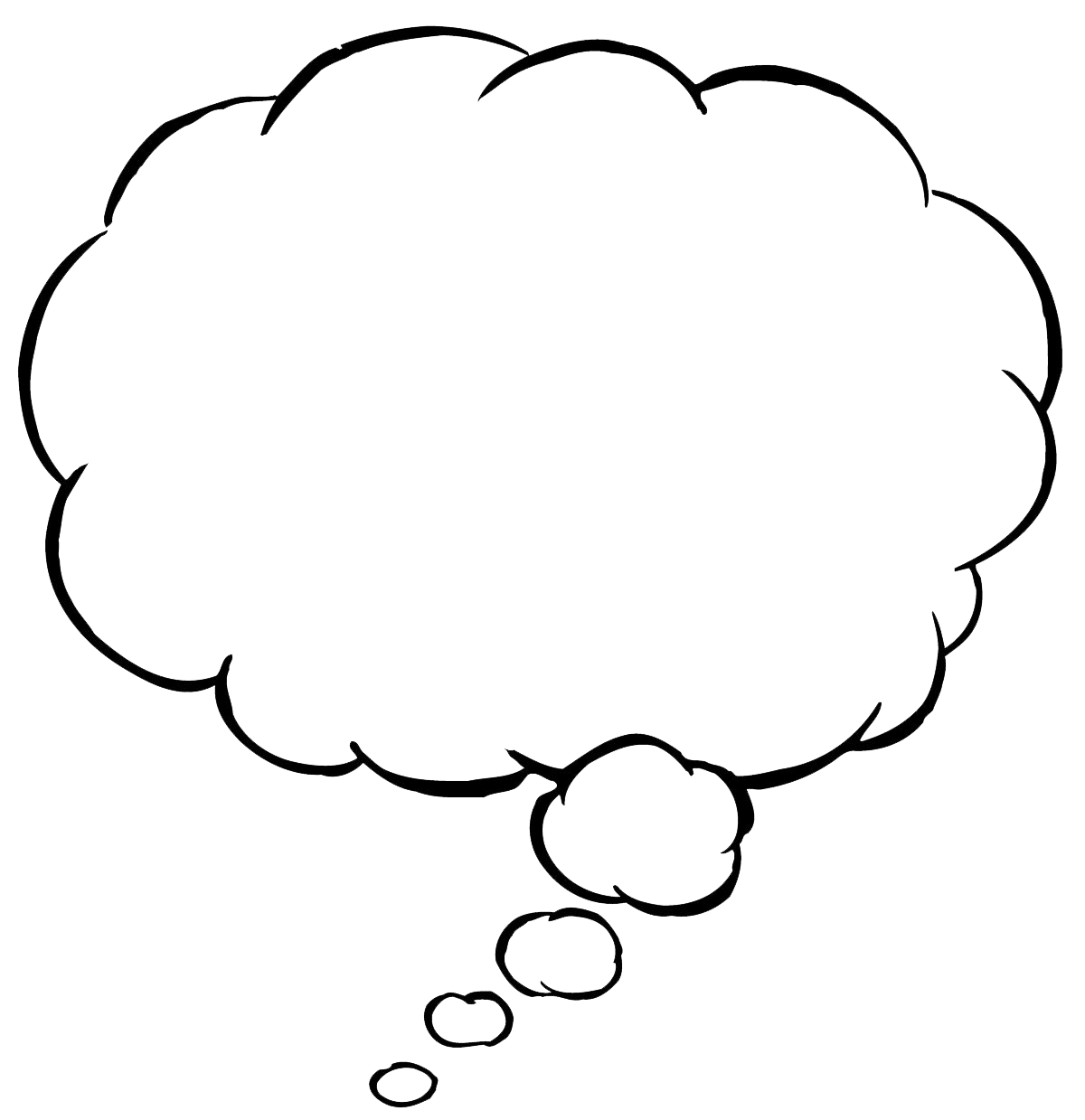 1200x1239 Png Thought Bubble Transparent Thought Bubble.png Images. Pluspng