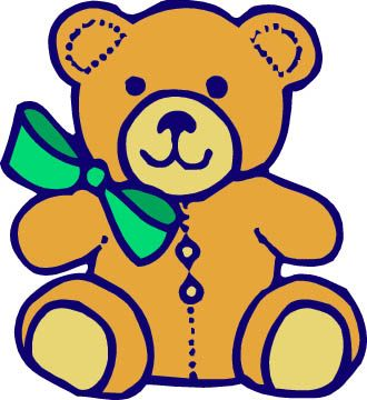 Cartoon Teddy Bears Clipart