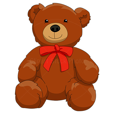 400x400 Clip Art Teddy Bear
