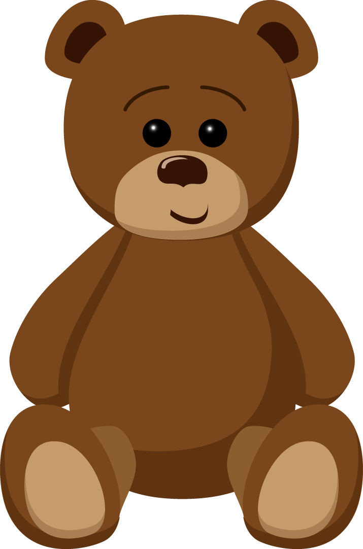 715x1082 Bear Clipart Transparent