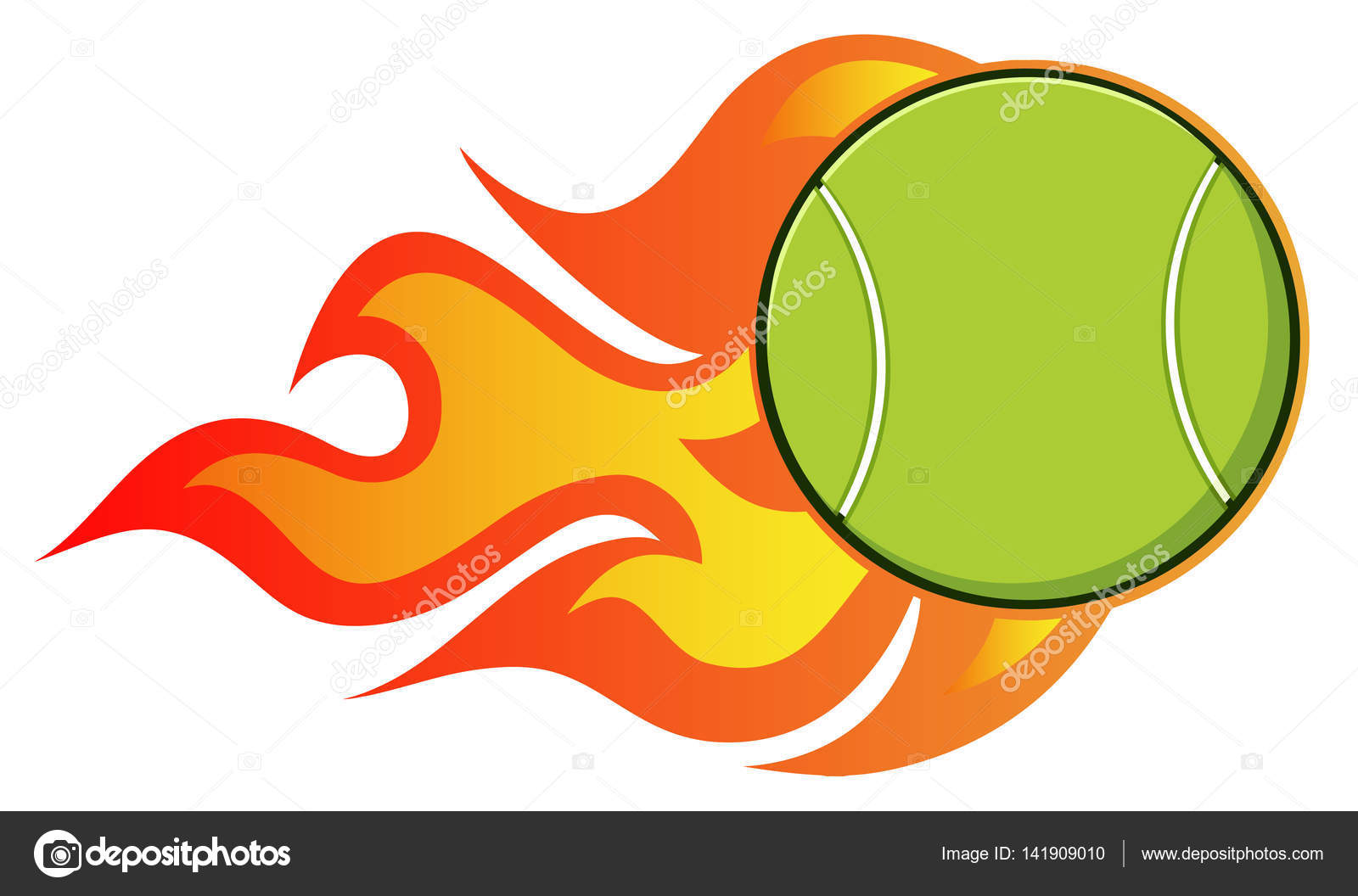 1600x1056 Tennis Ball Cartoon Stock Vector Hittoon