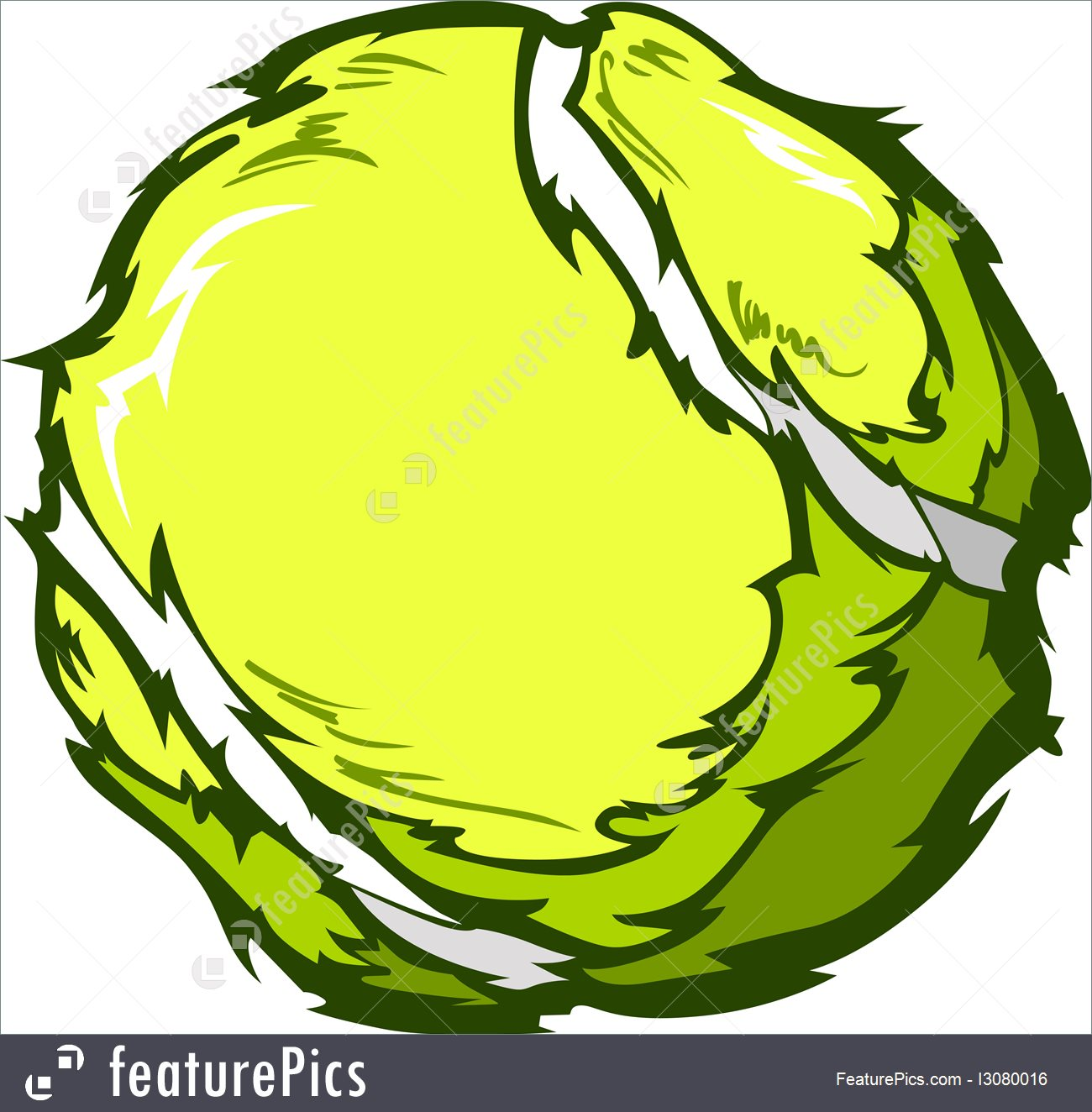 1300x1324 Tennis Ball Vector Image Template