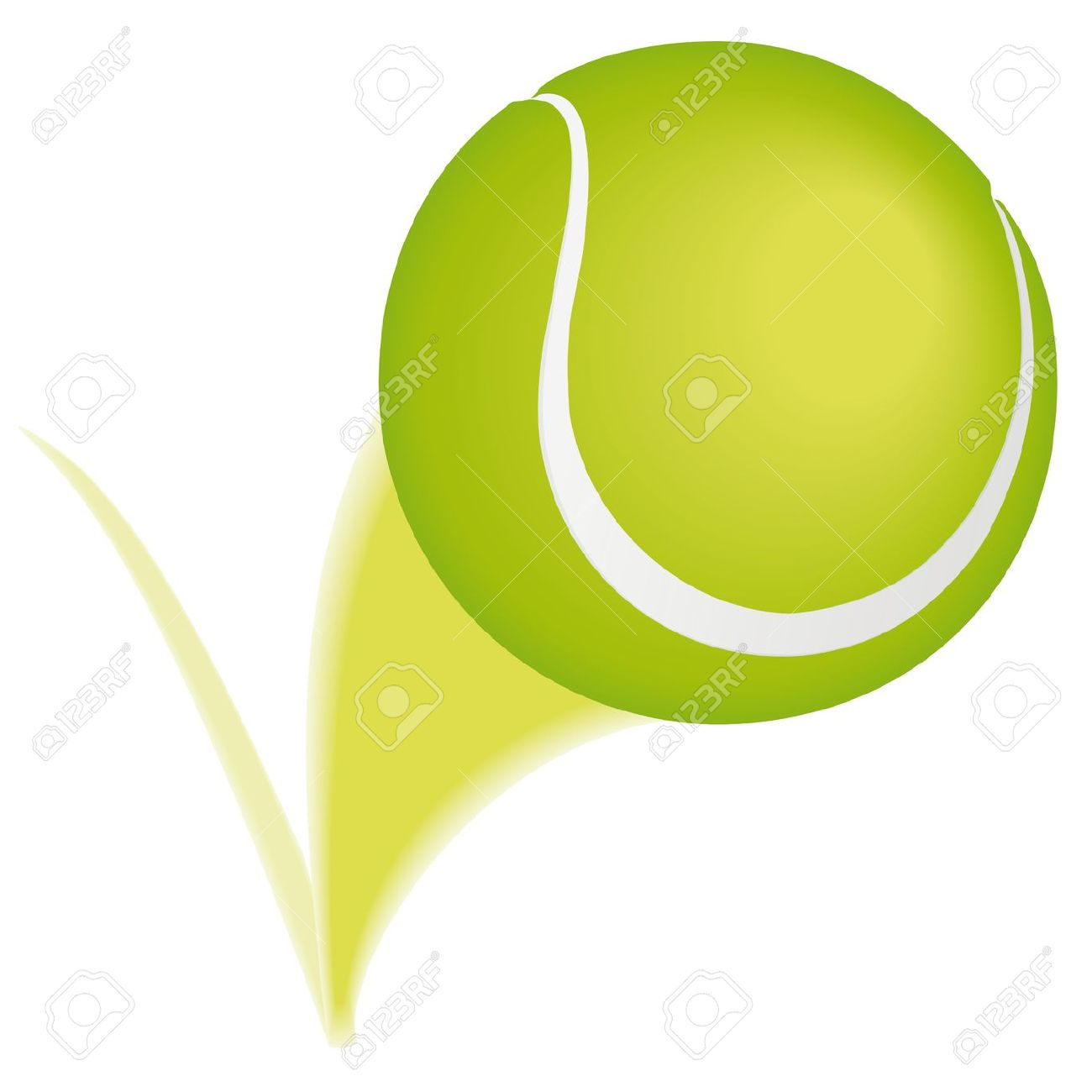 1300x1300 Tennis Ball Clipart Animated