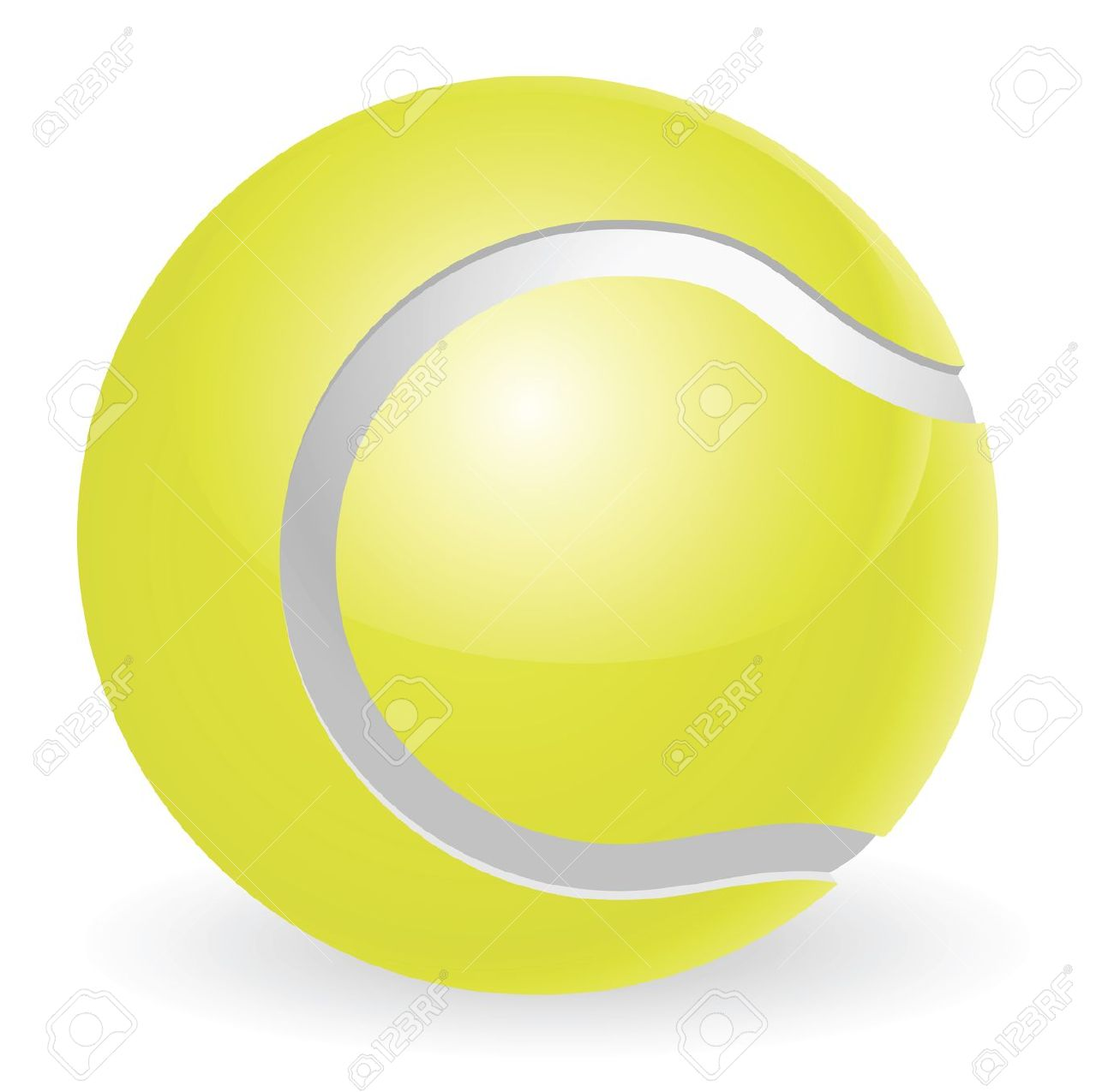1300x1275 Tennis Ball Clipart Cartoon