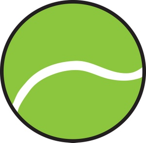 300x294 Tennis Ball Clipart Free Images